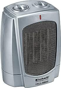 Einhell NKH 1800 PTC-Heizlüfter, 1800 W, 2 Heizstufen, Thermostatregler