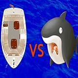 Boat Dodging Shark Edition