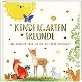 Kindergartenfreunde: ein Album für meine ersten Freunde - TIERE (Freundebuch Kindergarten 3 Jahre)