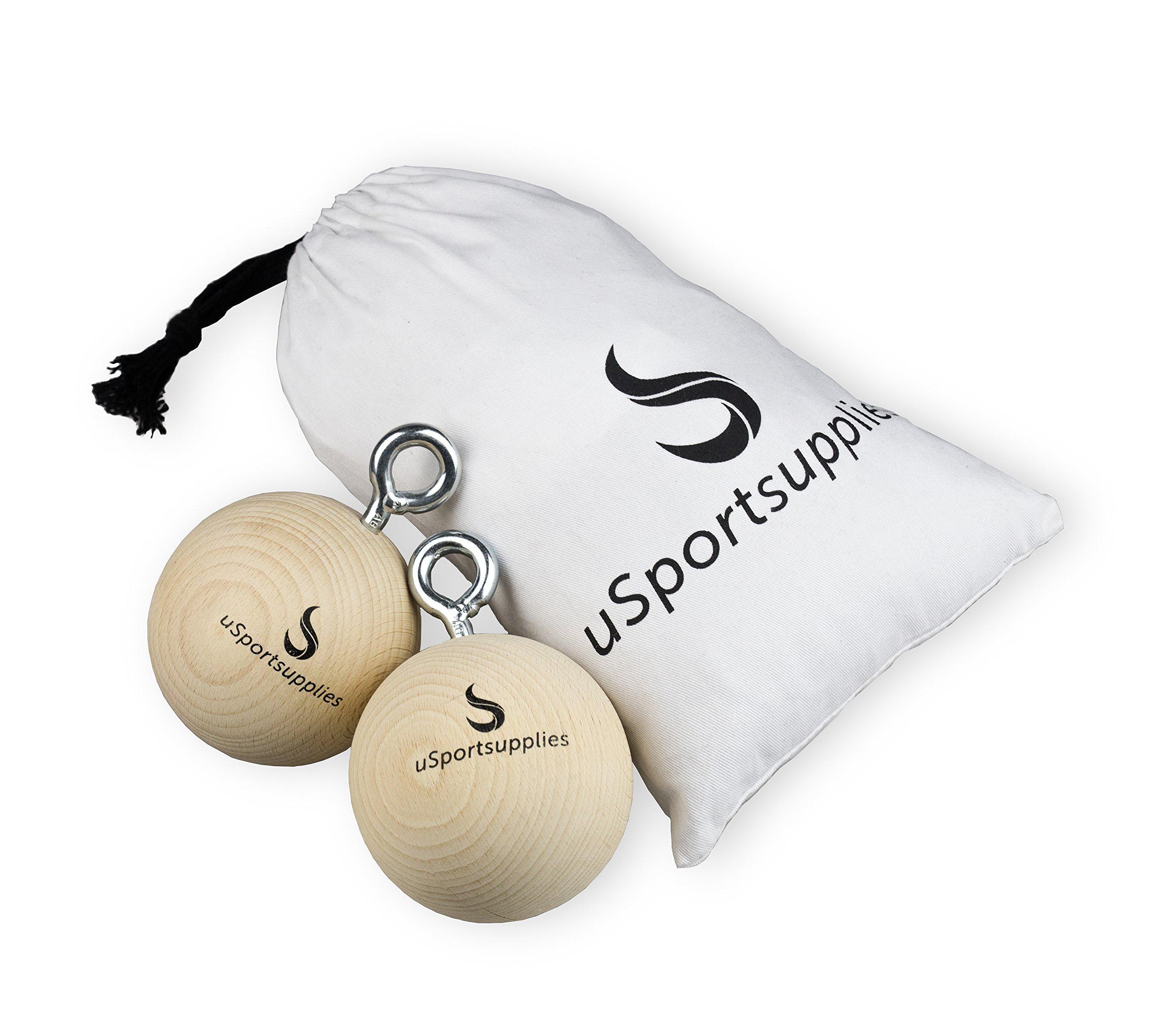 Bola entrenamiento para más de mango y de agarre Fuerza–Juego de 2bolas de escalada para el mejor de escalada, de antebrazos y fitness entrenamiento–Incluye Bolsa)–Diferentes tamaños