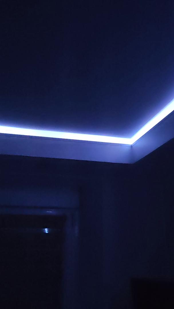 KOOSEED LED Ruban 5050 RGB 12M Bluetooth Ruban LED Bar Chambre Mesh LEDs Int/érieur Connect/és en S/érie Pour F/ête Contr/ôl/é par APP avec T/él/écommande Soir/ée