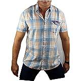 Sublevel - Camisa casual - Cuadrados - para hombre