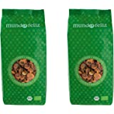 Mundo Feliz, albicocche denocciolate essiccate biologiche, 2 x 500 g