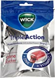WICK Triple Action ohne Zucker, 10er Pack (10 x 72 g)