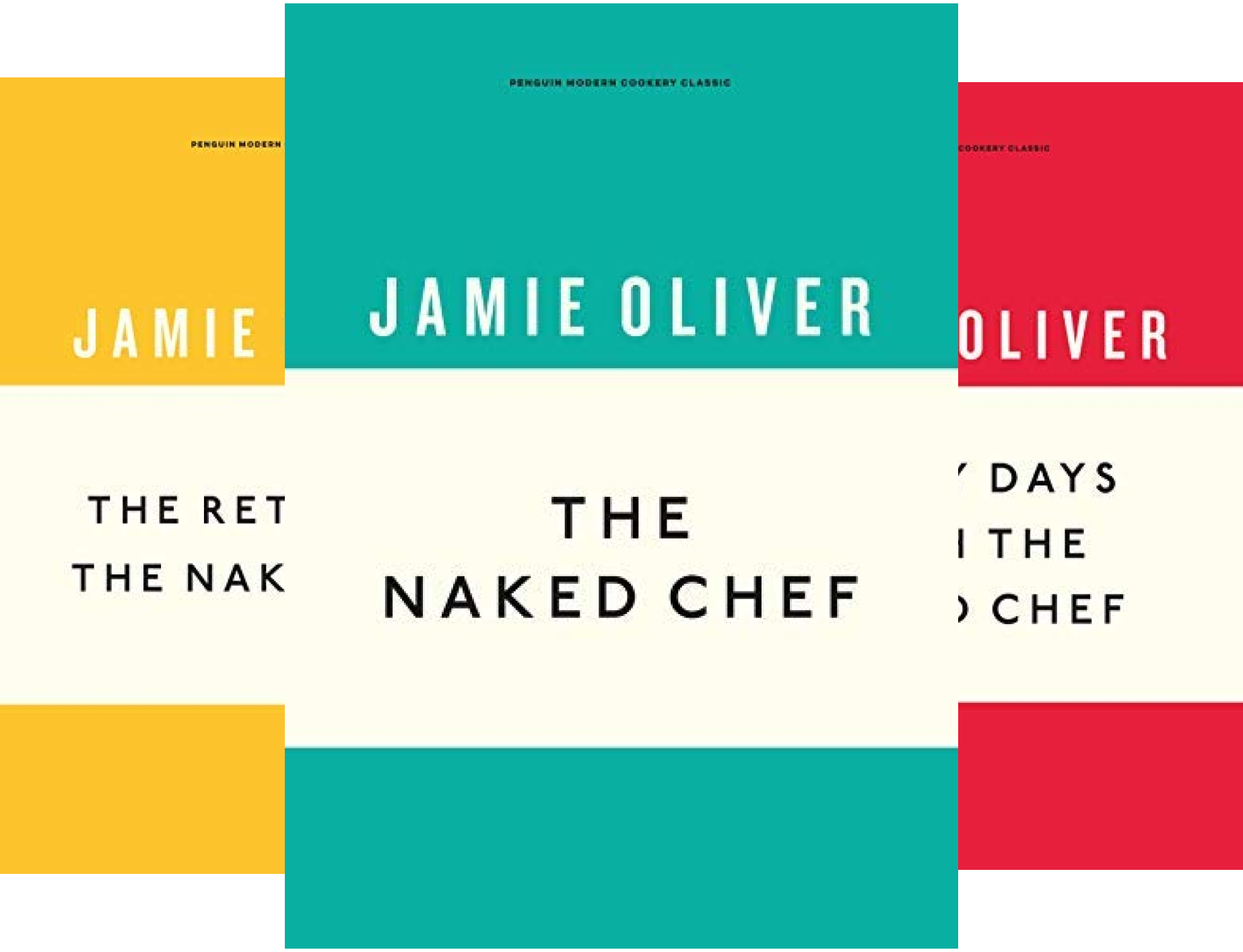 The Naked Chef Series (5 Book Series)