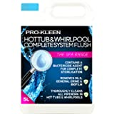 5L of Pro-Kleen Hot Tub & Whirlpool Complete System Flush Cleaner