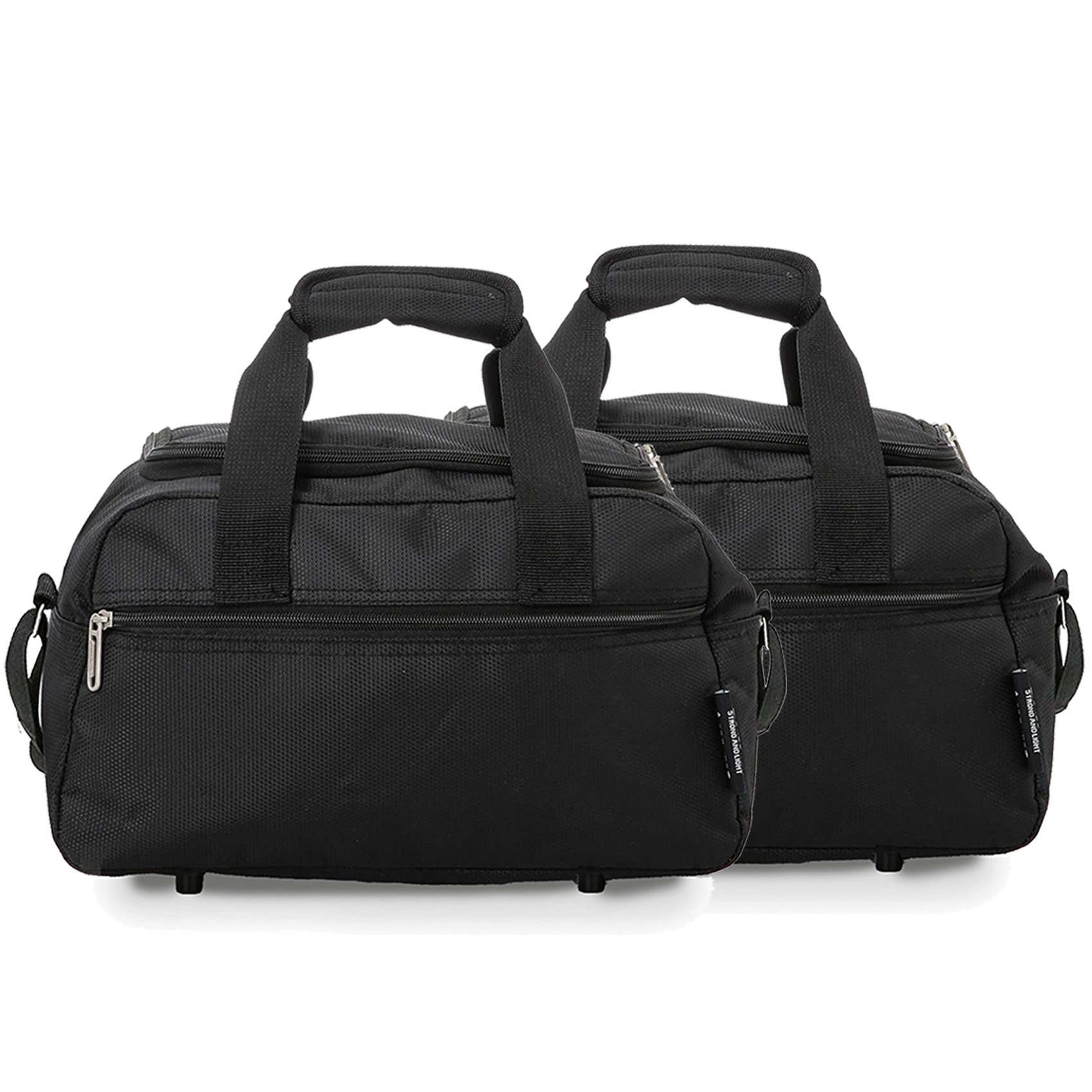 81KxbWh3RRL - Aerolite Holdall Maximum Ryanair Hand Luggage Cabin Sized Flight Shoulder Bag Equipaje de Mano, 35 cm, 14 Liters, Negro…