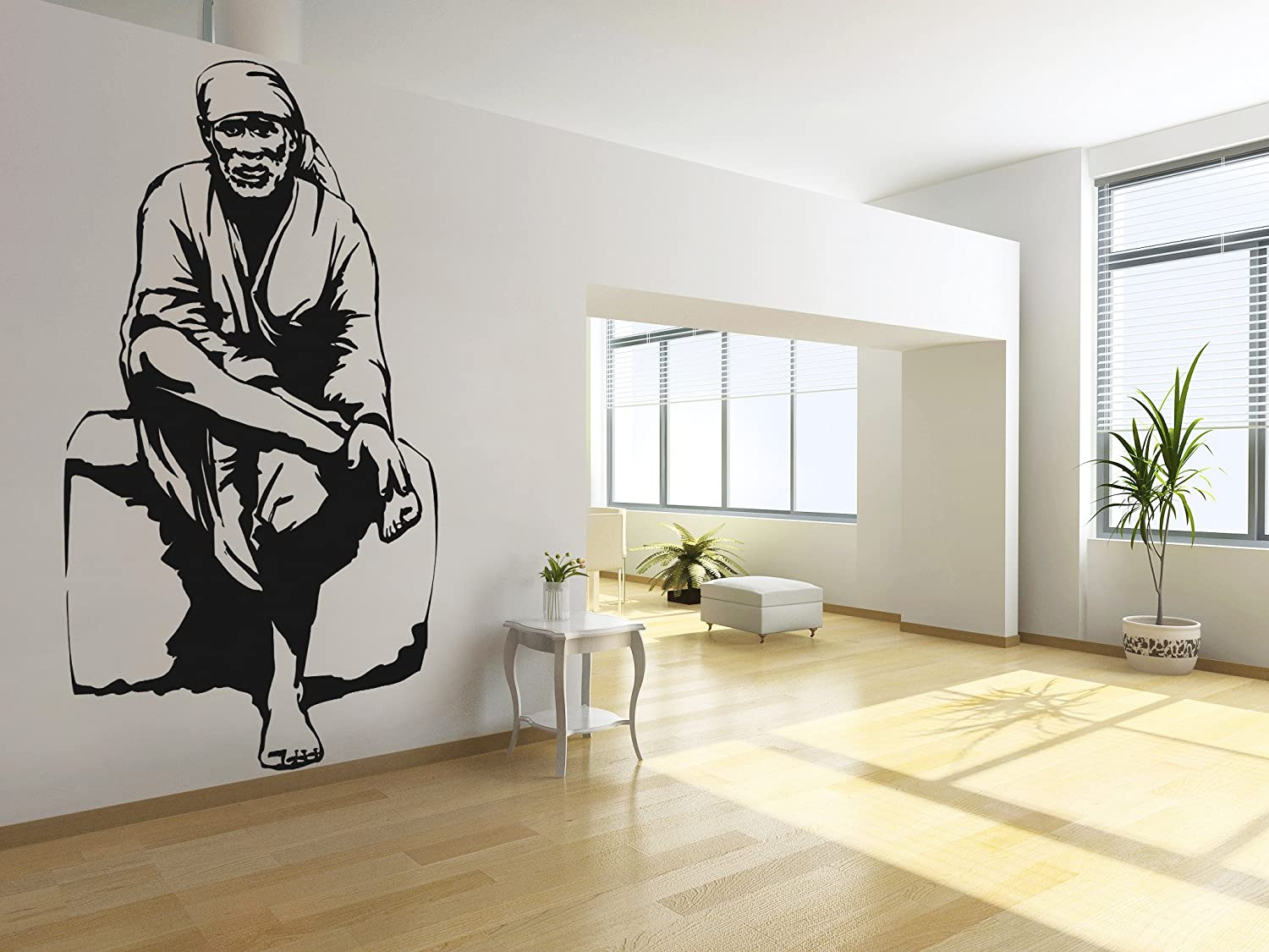 Buy sai baba wall sticker decal online at low prices in india buy sai baba wall sticker decal online at low prices in india amazon amipublicfo Choice Image