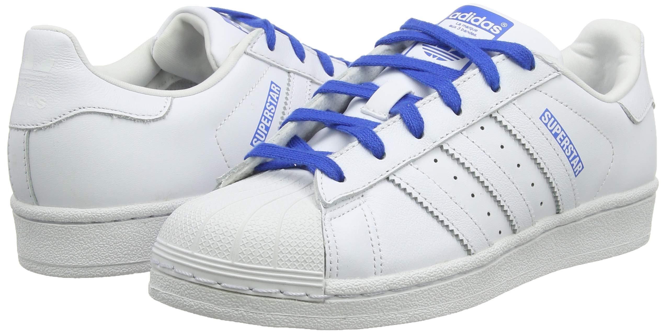 adidas Superstar J, Scarpe da Ginnastica Unisex-Bambini 10 spesavip