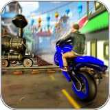 Train Bike Stunt Fever gratuito 2018: giochi gara racing car blast bmx rush city ciclo caccia drag driver dirt hill salita kids kitty man pro 3d trick riding rider su per sim bridge crisi motore fuga jump mania run track wash zoo volo flip fest star