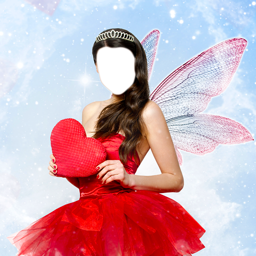 Fairy Dress Photo Editor - Halloween-foto-editor