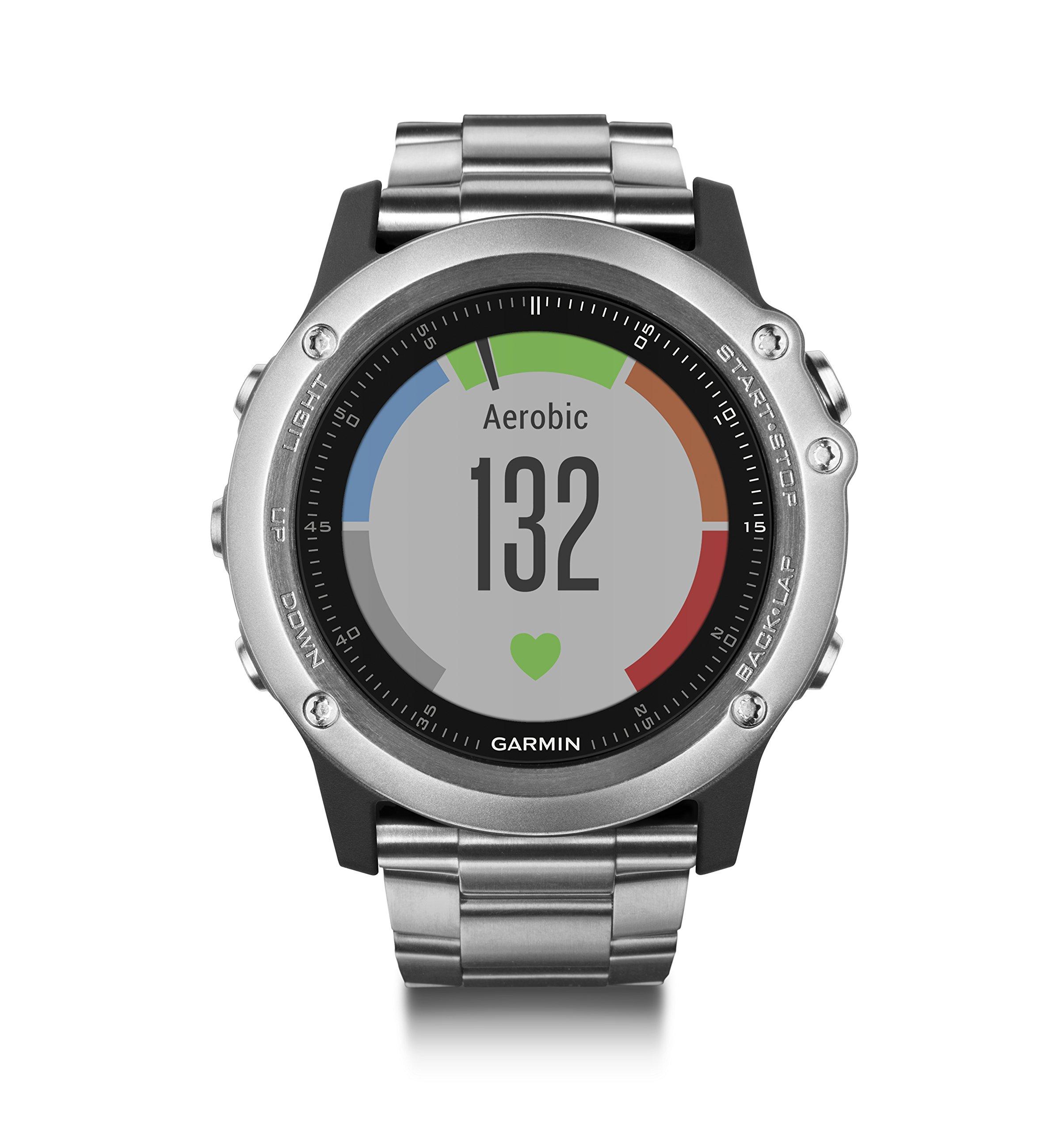 Garmin Fenix 3 HR Smartwatch GPS Multisport, Sensore Cardio al Polso, Display a Colori, Altimetro e Bussola, Nero/Grigio 3 spesavip