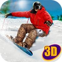 Snowboard Mountain Racing Contest