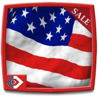 Amazing American Flag HD  - Celebrate the National & Independence Day with Beautiful Patriotic Theme