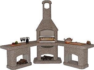 Außenküche Mit Backofen : Bau einer überdachten außenküche mit alten klinker grillforum