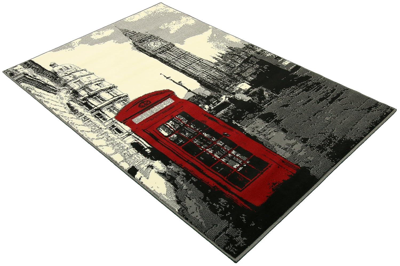 DeBonsol - Tapis salon LONDON londres big ben UNIVERSOL: Amazon.fr ...