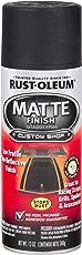 Rust-Oleum 263422 Automotive Matte Finish Spray Paint (340 g, Black)