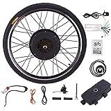 """Sfeomi elektrische fietsconversiekit, wielmaat 26"""", 48V, 1000W fietsombouwkit, conversiekit met een elektrische motor"""