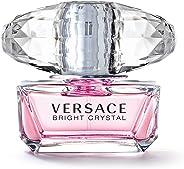 Versace Bright Crystal Eau De Toilette for Women, 50Ml for Women