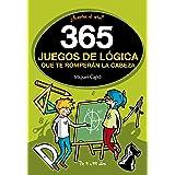 365 enigmas y juegos de lógica: Para niños y niñas. Acertijos divertidos y Retos de ingenio para aprender en Familia. Activid