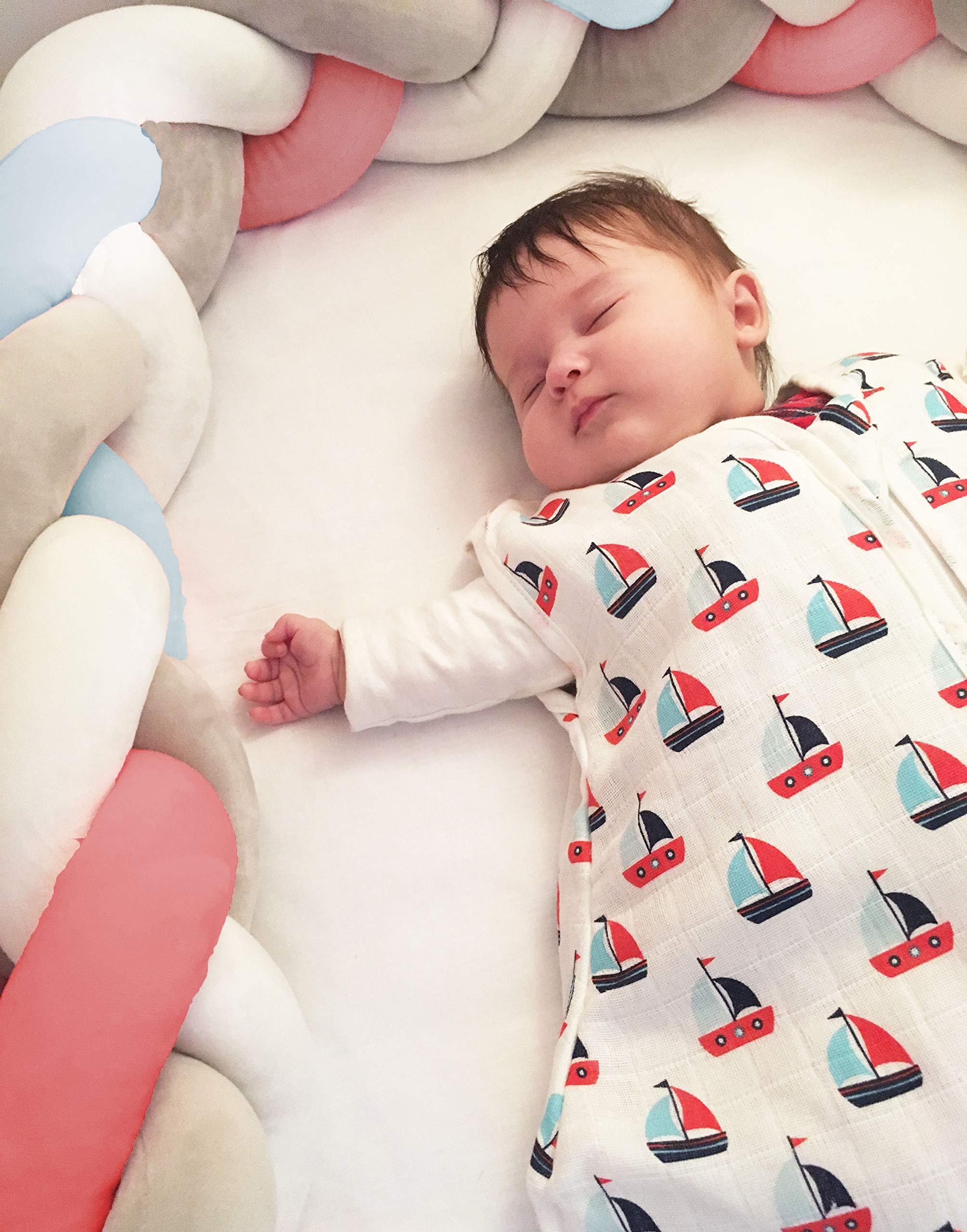 Zollner Saco de dormir bebé ligero verano, algodón, 18-36 meses, otras medidas