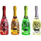 Rogante - Promo Party, Spumante Illuminato 4 x 75CL, Spumanti Fruttati 11%