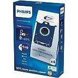Philips Stofzuigerzak S-Bag Original - Geschikt voor Philips stofzuigers met zak - Hygiënisch sluitsysteem - Hoge filtercapac