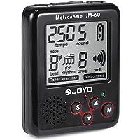 JOYO@TM Mini Metronomo Cancella Suono Generatore Tone Auto-off con Batteria Ricaricabile USB e 4 Accessori per Chitarra…