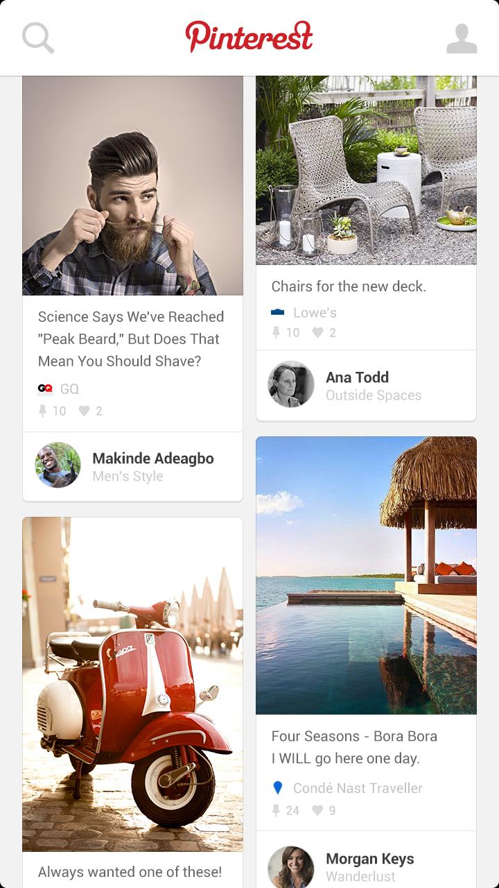 Pinterest  Amazon.de Apps & Spiele