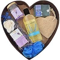 BodyHerbals Lavender Surprise Bathing Set For Ultimate Spa Experience (Lavender Shower Gel 200ml, Lavender Bathing Bar…