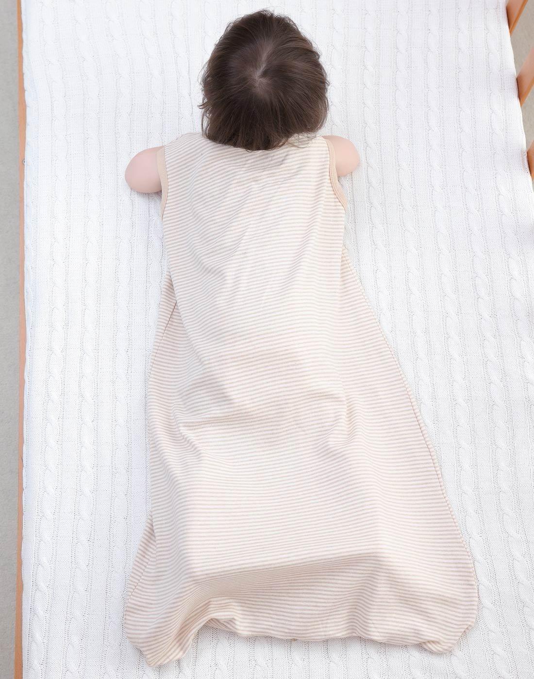 Happy Cherry – Saco de Dormir de Algodón para Bebés Cómodo con Estampado Animal Infantil sin Mangas de Forma de Sobre…