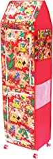 Amardeep Jungle Multipurpose Toy Box, Red