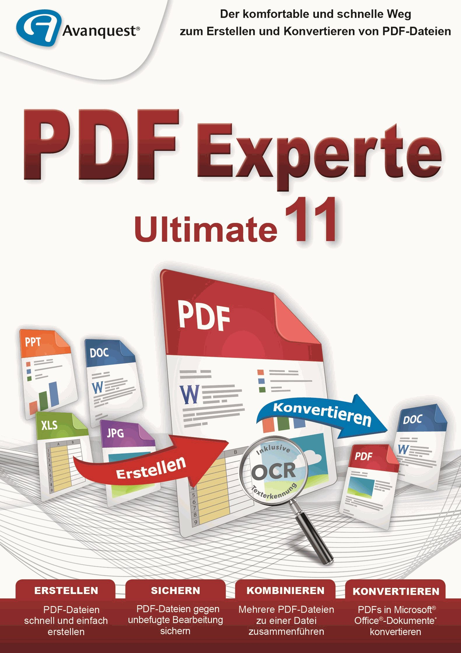 PDF Experte 11 Ultimate - Für Windows 10|8|7|Vista|XP [Download]