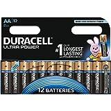Duracell Ultra Power Typ AA Alkaline Batterien, 12er Pack