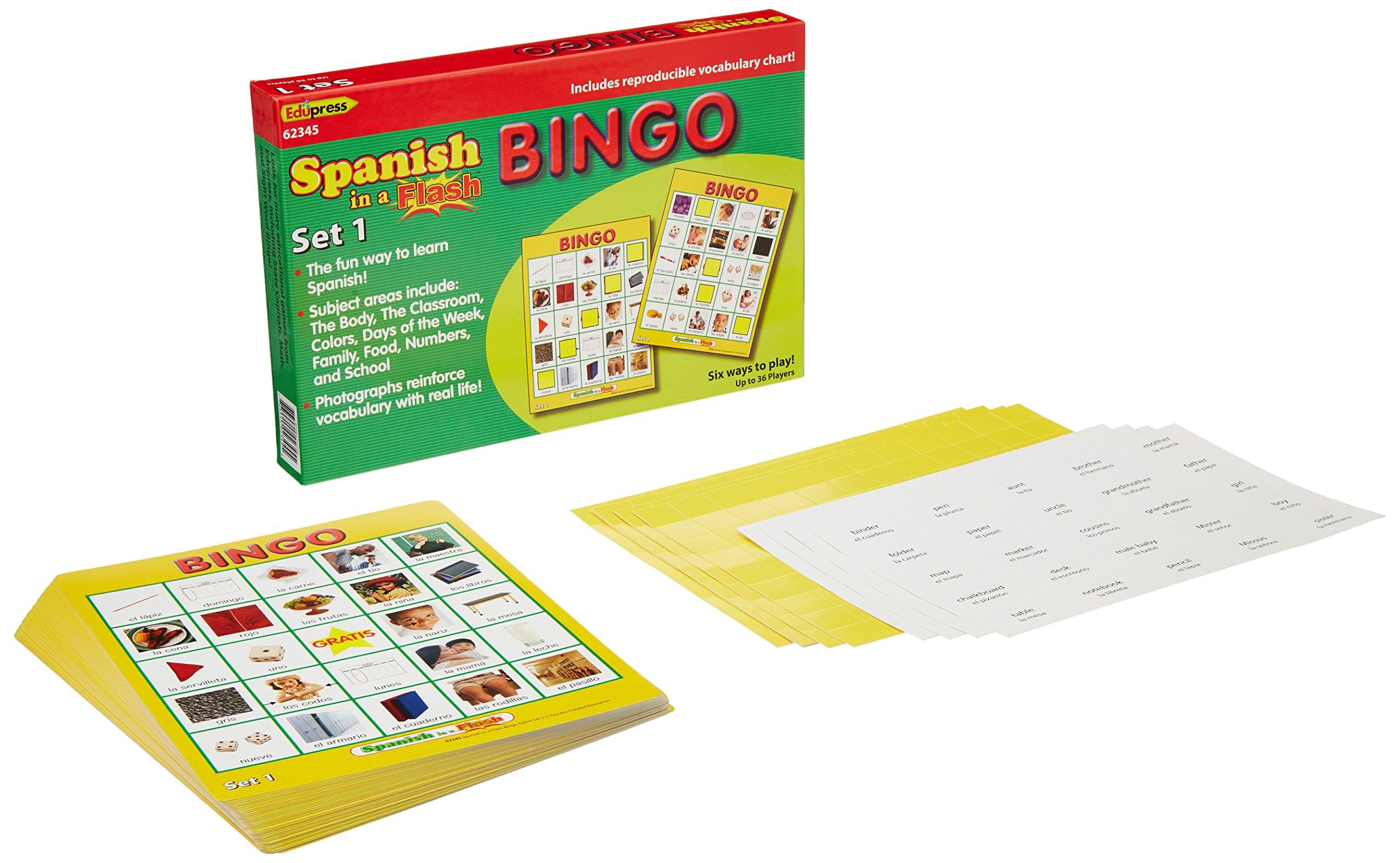 Edupress-EP-2345-Spanisch-in-einem-Flash-Bingo-Set-1