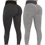 Ldiawnshi Yoga De Cintura Alta para Mujer, Mallas de Deporte de Mujer, Leggins Pantalon Deporte Yoga, Leggings Anticelulítico