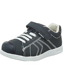C J Geox, Chaussures Pour Enfants, Jaune (citron Vert / Noir), 24 Eu