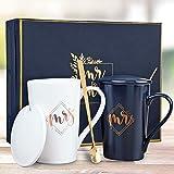 أكواب السيد والسيدة من كيدريان، هدايا الأزواج، هدايا لحفلات الزفاف للزوجين، هدايا السيد والسيدات، هدايا الذكرى السنوية للزوجي