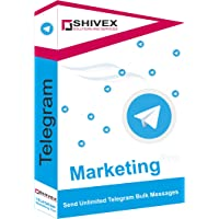 Shivex Telegram Marketing tool for sending bulk message to customer | No Limitation | Easy to use | No Physical Delivery…