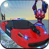 US-Polizei Polizist Roboter-Transformator: Polizei Verfolgungsjagd in Cop-Roboter-Auto als NY Polizeibeamter von Roboter-Spiele Muskelroboter Auto Transformation in Roboter Kampfspiele Roboter Schlacht Action-Spiele kostenlos für Kinder Android-Spiel