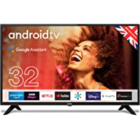 """Cello C3220G 32"""" Smart Android TV with Freeview Play, Google Assistant, Google Chromecast, 3 x…"""