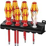 Wera 160 i/165 i/7 Rack skruvmejsel set Kraftform Plus-serien 100 spänningsprovare ställ, 7 delar, 05006148001