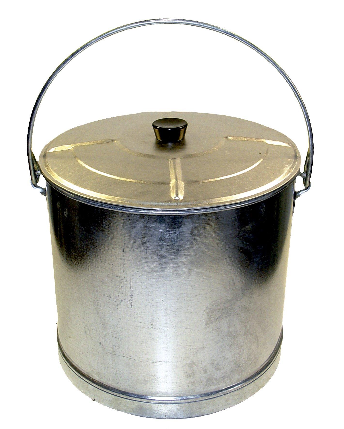 Imex la Volpe 10186-mozzo liscio rinforzato con coperchio, 15 , diametro 37,5 x 33 cm