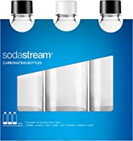 SodaStream 3 Bottiglie Universali per gasatore d'acqua, Capienza 1 Litro, Compatibili con modelli Jet, Spirit, Source,...