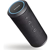 Bluetooth Lautsprecher Zamkol ZK606, HiFi 360° Stereo Sound, Wasserdicht Musikbox, mit Schlüsselband, Mikrofon…
