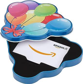 Buono Regalo Amazon.it - Cofanetto Palloncini di compleanno