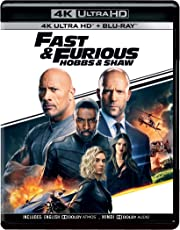 Fast & Furious Presents: Hobbs & Shaw (4K UHD & HD) (2-Disc)