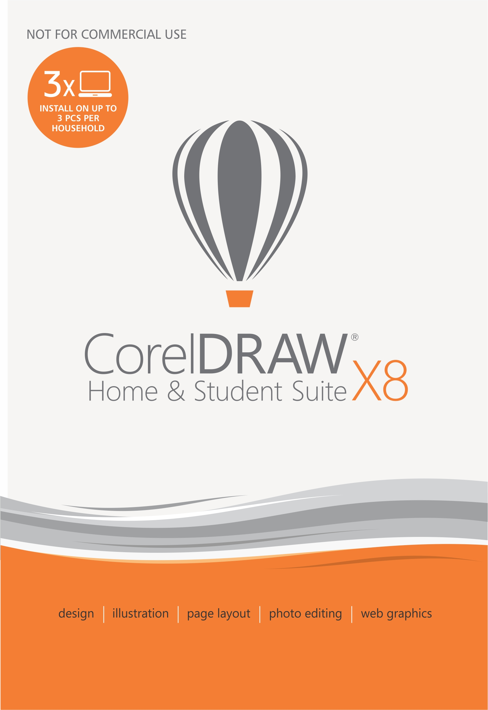 CorelDRAW Home & Student Suite X8 [Download]
