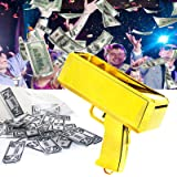 ALLIS Requisite Geldpistole, Tyrann Goldener Regen Geldpistole, 100 Requisiten Geld Party Geschenk Spielzeug Pistole Party Fe