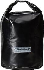 Highlander - Wasserdichter PVC Packsack - Volumen: 15L, 30L und 45L - Schwarz / Orange - In verschiedenen Größen und Farben erhältlich